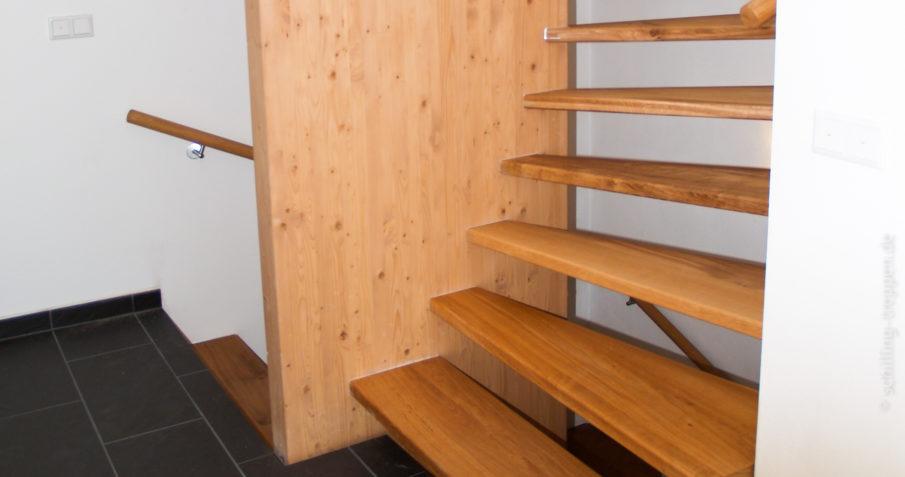 moderne eichentreppe schilling treppen. Black Bedroom Furniture Sets. Home Design Ideas
